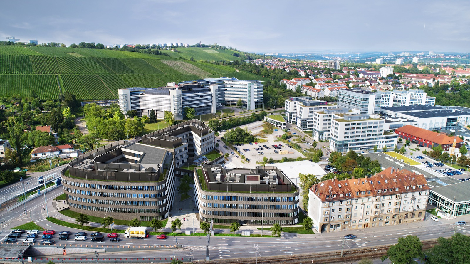 leo Business Campus Stuttgart Luftbild